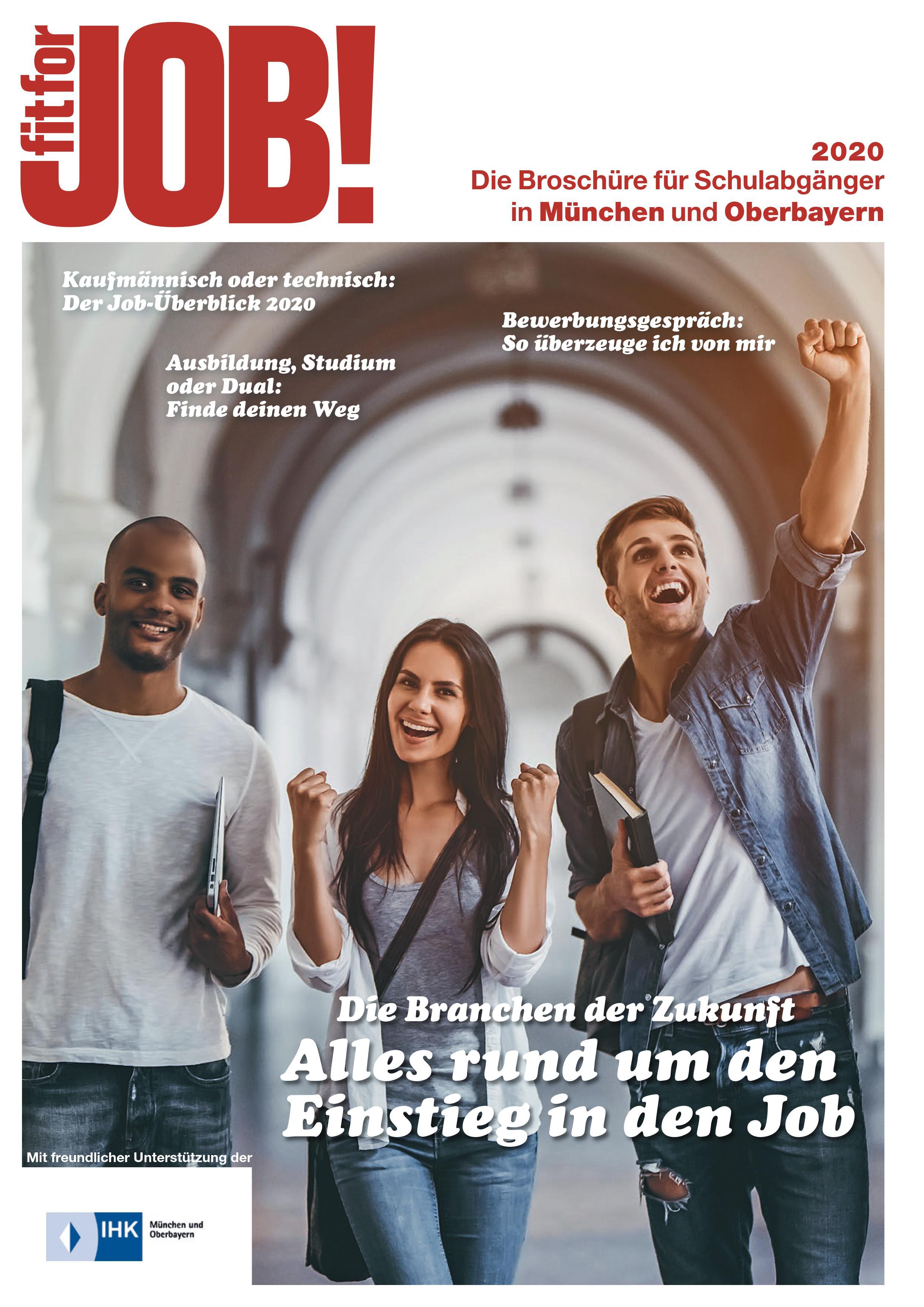 fit for Job! München und Oberbayern